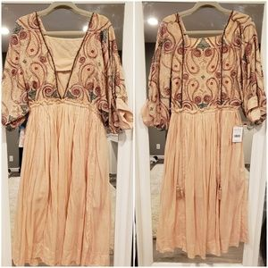 Free People Mesa Midi Dress